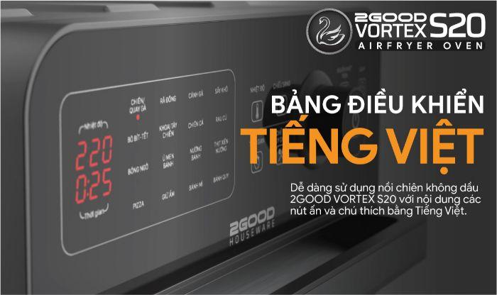 bang-dieu-khien-tieng-viet-cua-noi-chien-khong-dau-2good-vortex-s20-air-fryer-oven