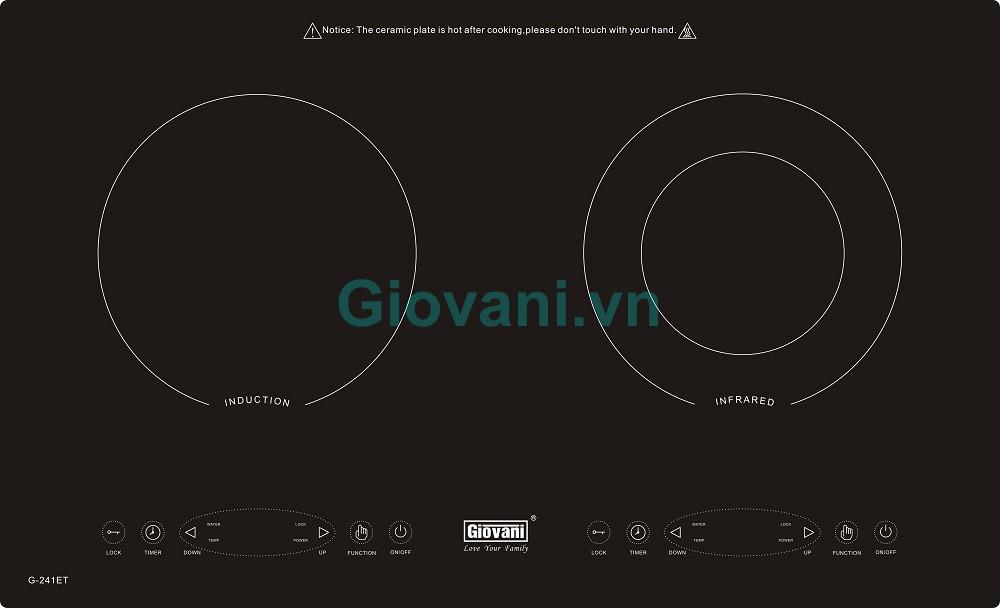 Bếp điện từ Giovani G-241ET