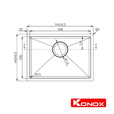 Ban ve Undermount Series KN5444SU-min