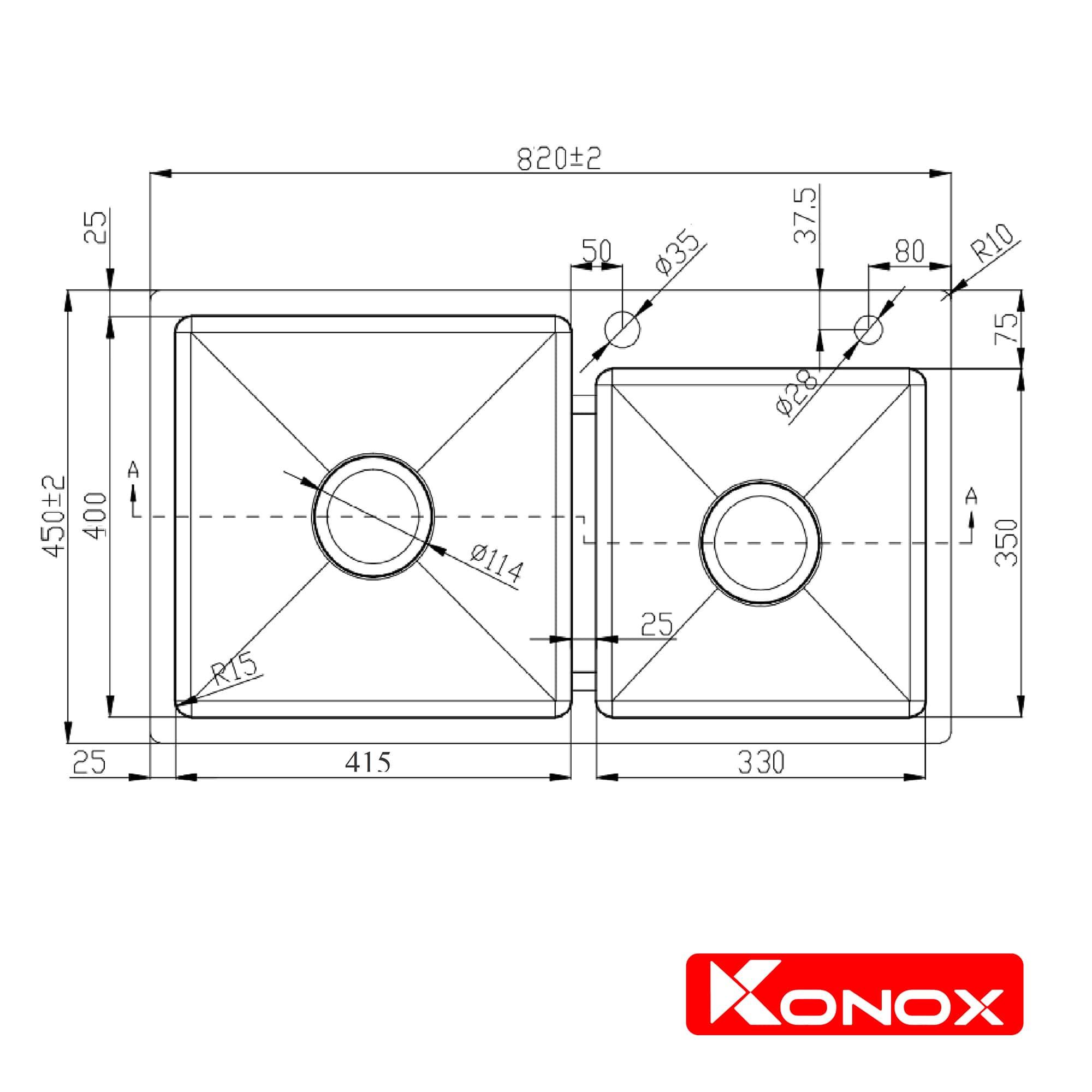 Ban ve Overmount Series  KN8245DO-min