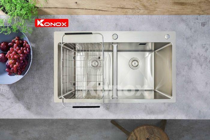 Chậu rửa bát konox KN8248DOB