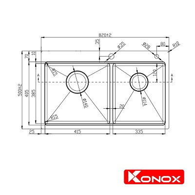 Ban ve Topmount Series  KN8250TD-min