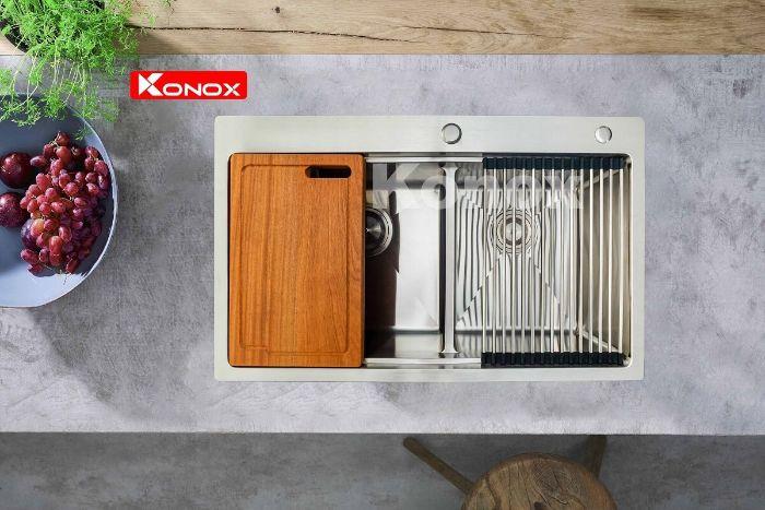 Chậu rửa bát konox KN8250TD