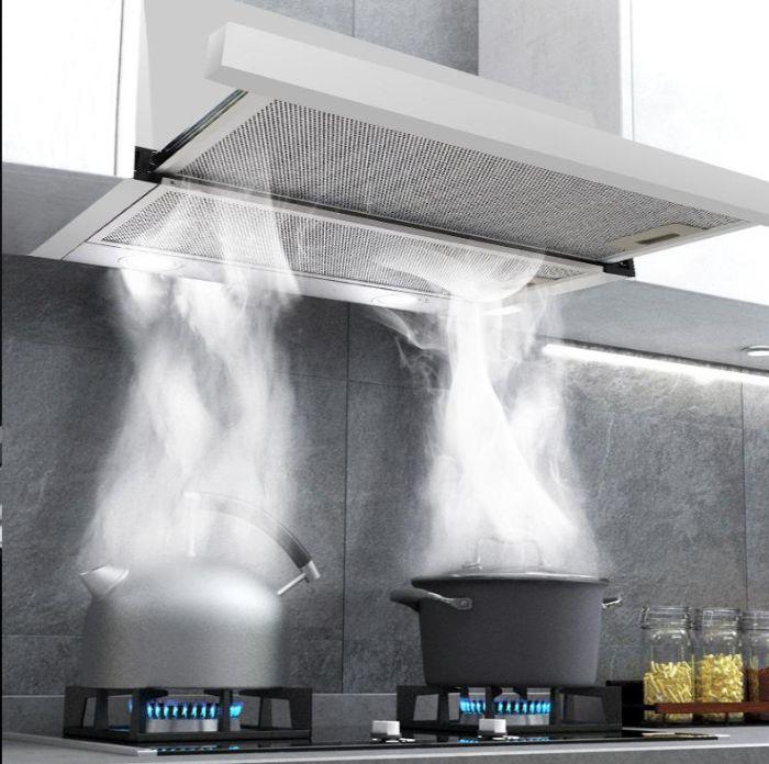 Loại bỏ mùi khó chịu với chế độ hút chuyên sâu của máy hút mùi Bosch DHL755BL (ảnh minh họa)