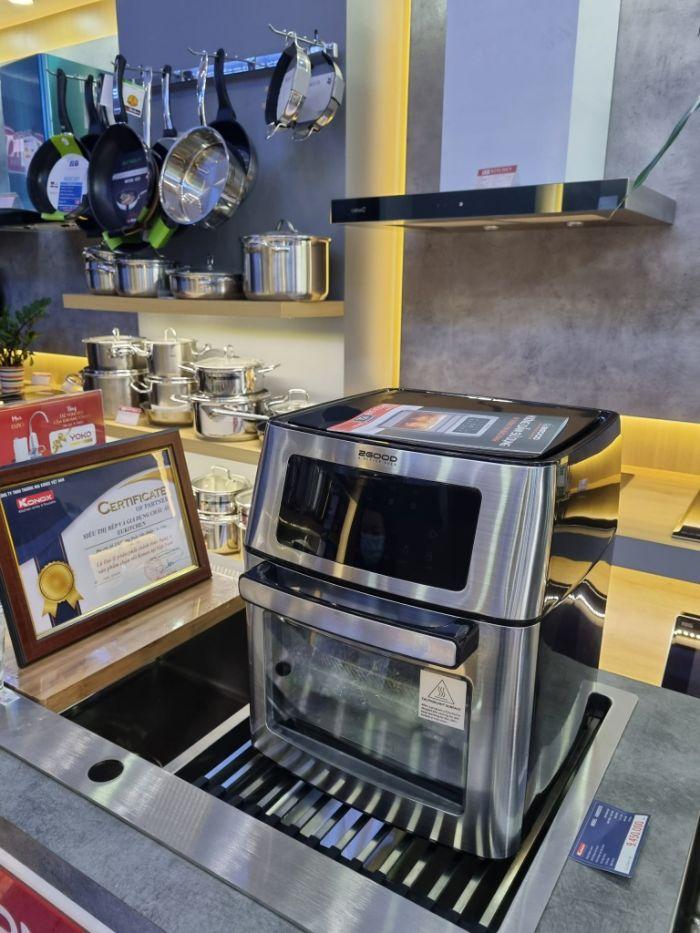 hinh anh thuc te cua noi chien khong dau 2good  Vortex S-18 Air Fryer Oven