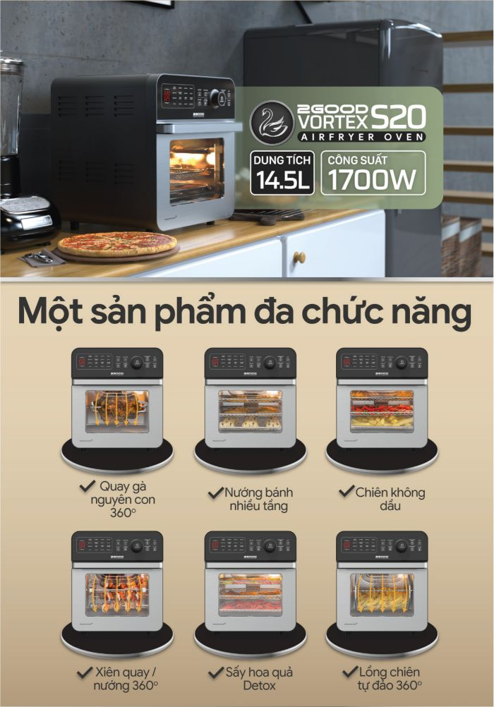 noi-chien-khong-dau-2good-vortex-s20-air-fryer-oven-da-chuc-nang
