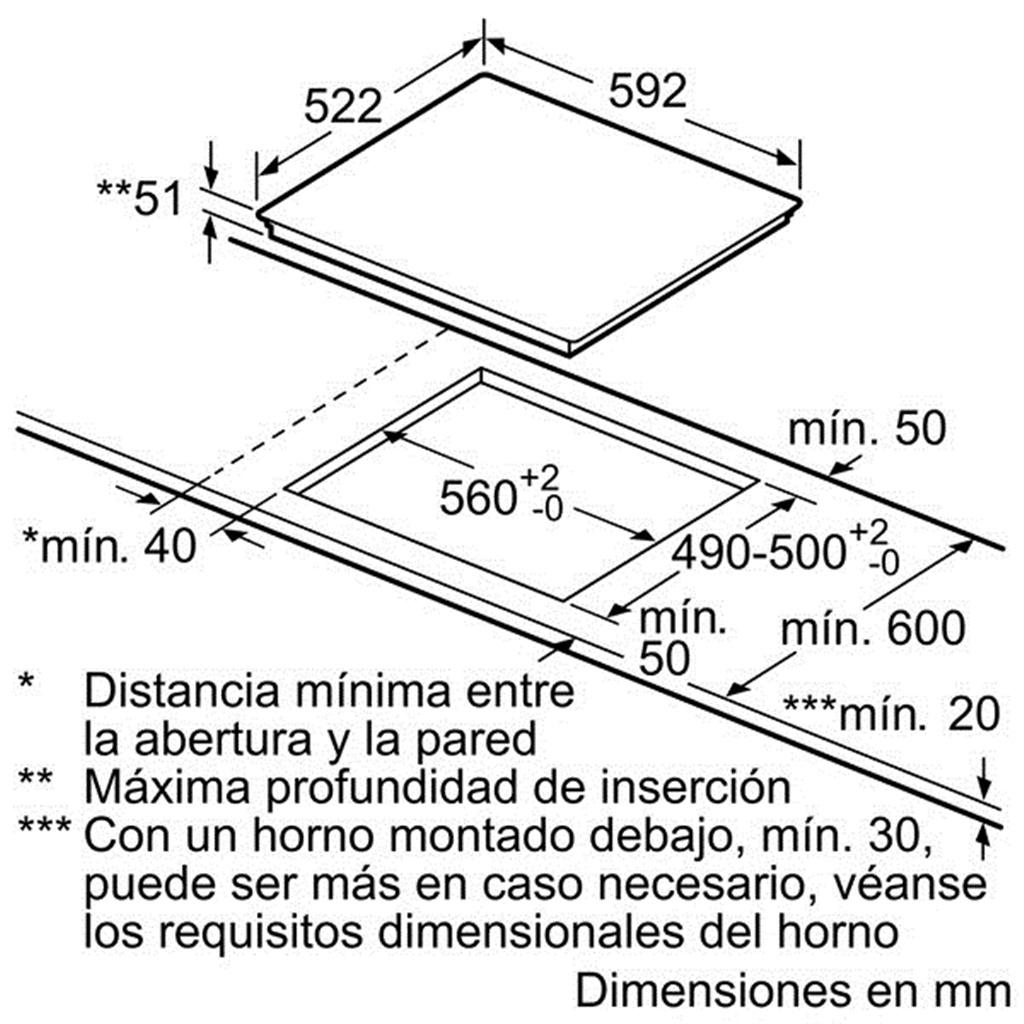 Thông số kỹ thuật bếp từ Bosch PID675FC1E