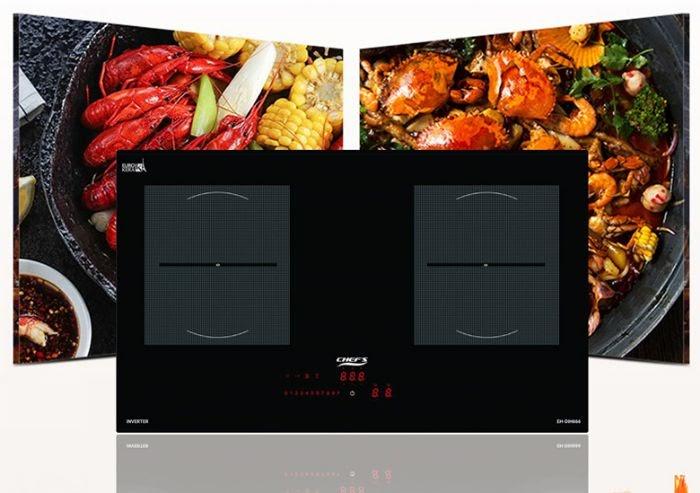 Công nghệ hiện đại được tích hợp trên Bếp từ Chefs EH DIH666
