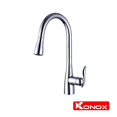 Vòi rửa bát dây rút Konox KN 1902