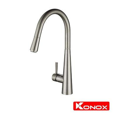 Vòi rửa bát dây rút konox KN 1901N