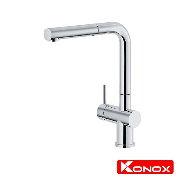 Vòi rửa bát dây rút nóng lạnh Konox KN 1337