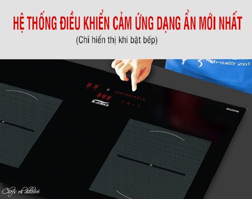 Bảng điều khiển bếp từ Chefs EH-DIH666