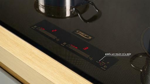 Bảng điều khiển bếp từ Chefs EH-DIH888S
