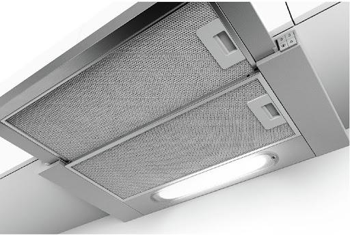 Đánh giá máy hút mùi Bosch DHI623GSG về thiết kế