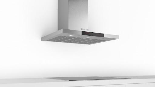 Đánh giá máy hút mùi Bosch DWB98JQ50B về thiết kế