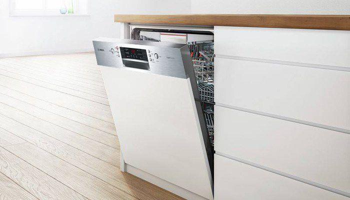 Đánh giá máy rửa bát Bosch SMI46KS01E về thiết kế