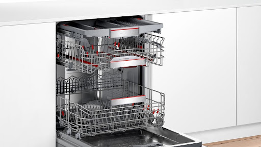 Đánh giá máy rửa bát Bosch SMI8YCS01E về thiết kế