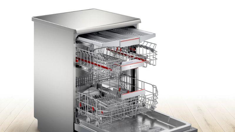 Đánh giá máy rửa bát Bosch SMS6ZCI42E về thiết kế