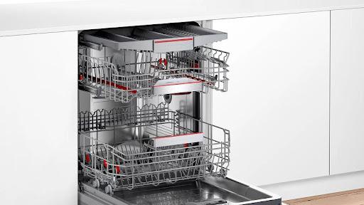Đánh giá máy rửa bát Bosch SMV6ZCX49E về thiết kế