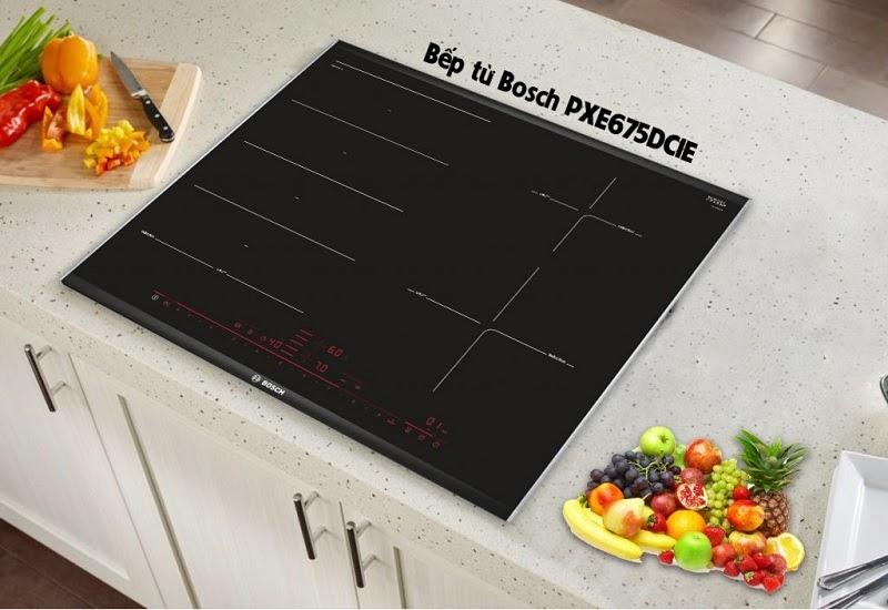 Đánh giá về tính năng bếp từ Bosch PXE675DC1E