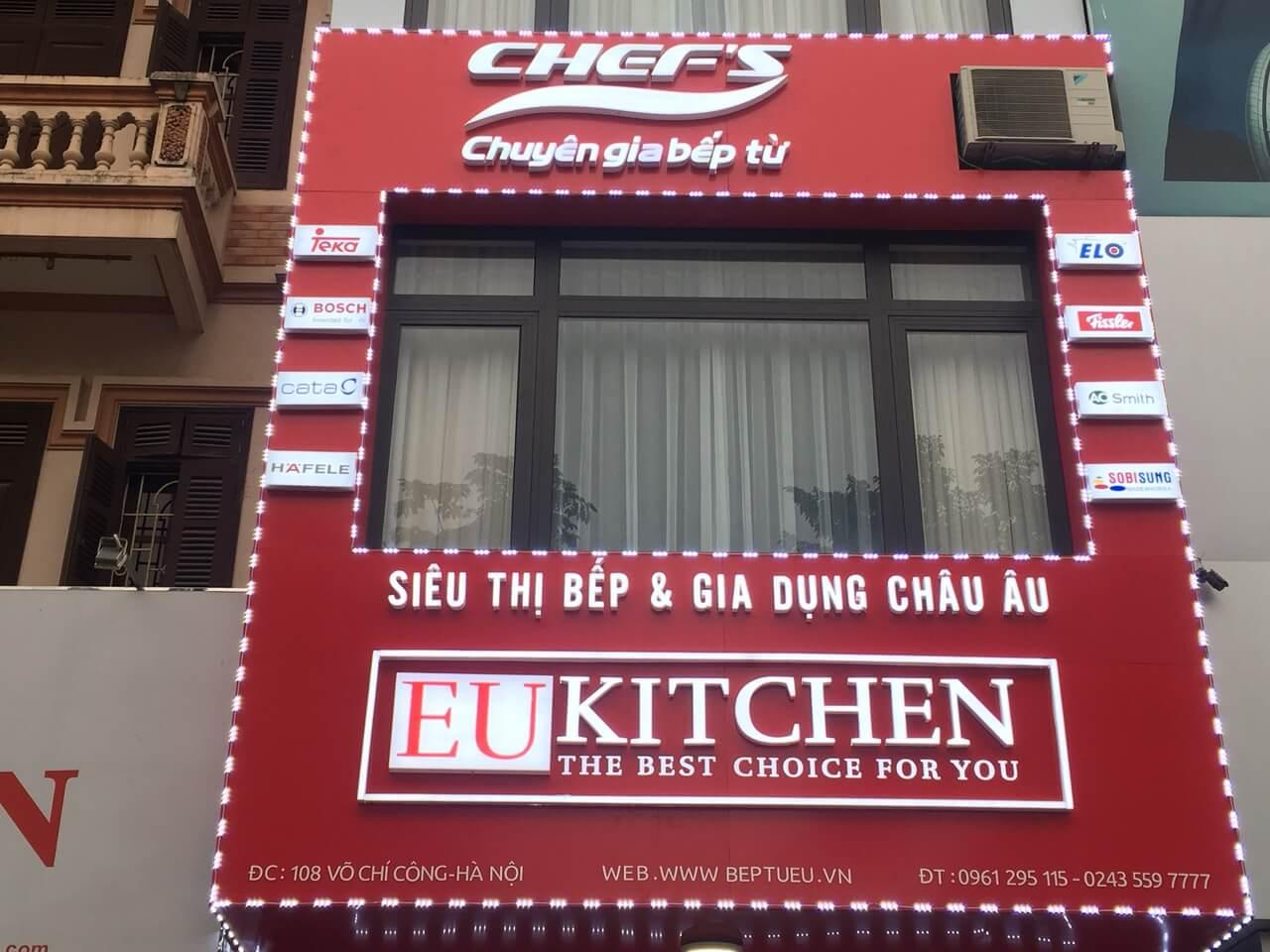 Hải Dương: Đại lý bếp từ nhập khẩu Châu Âu chính hãng - Eukitchen