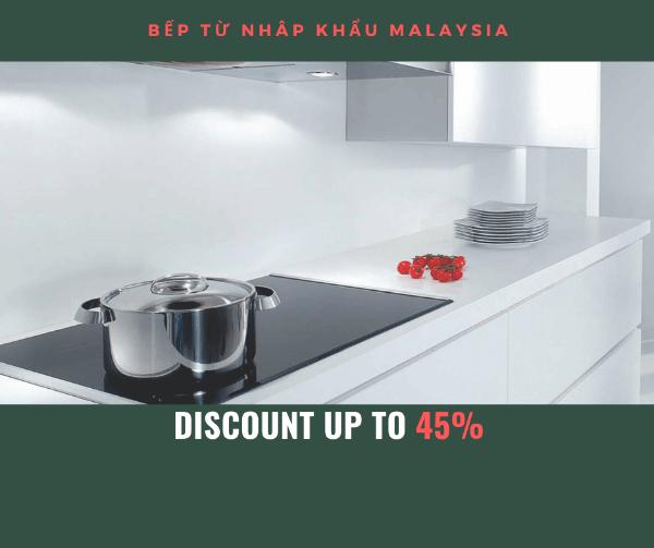 [Khuyến mại] Bếp từ Eurosun nhập khẩu Malaysia lên tới 45% ngay hôm nay
