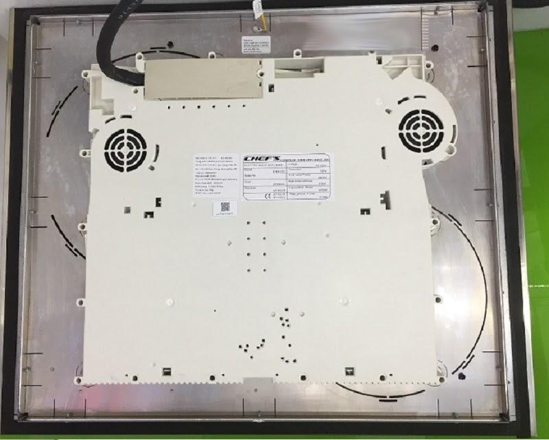 Linh kiện, mâm từ, khung vỏ bếp từ Chefs EH-IH555