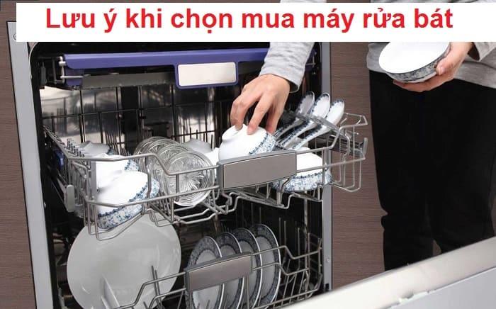 6 Lưu ý khi chọn mua máy rửa bát dành cho khách hàng mới mua lần đầu