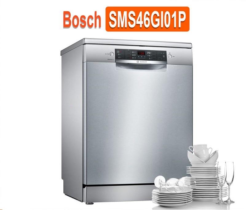 Người tiêu dùng đánh giá máy rửa bát Bosch SMS46GW01P