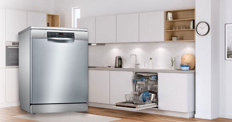 Người tiêu dùng đánh giá máy rửa bát Bosch SMS46MI07E