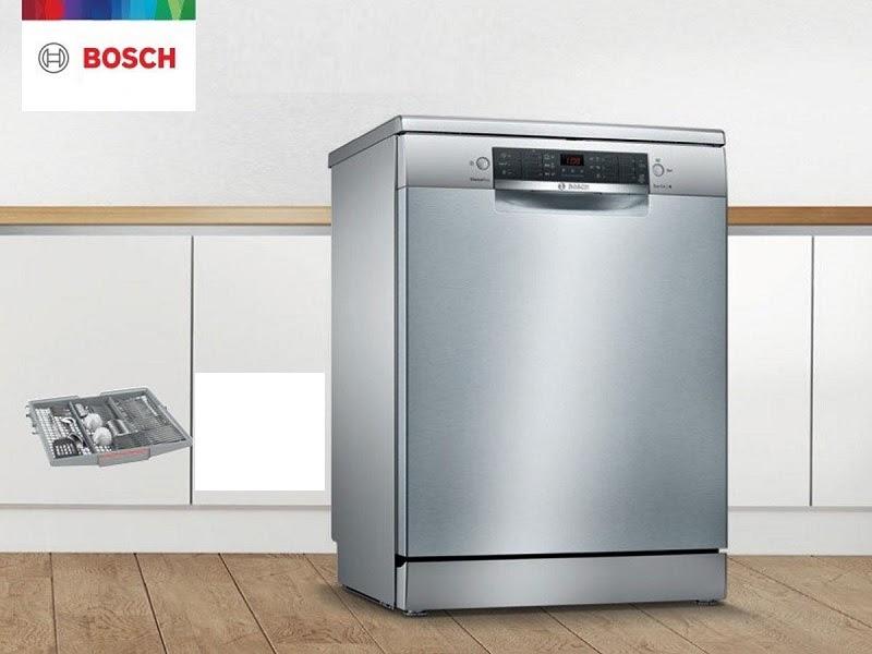 Máy rửa bát Bosch SMS46NI05E được nhập khẩu nguyên chiếc từ Đức