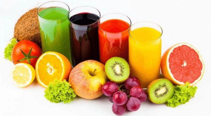 Nước ép hoa quả tươi mát
