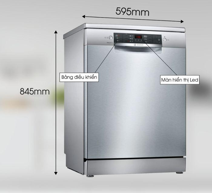 Thông số máy rửa bát Bosch SMS46GI01P