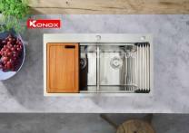 Chậu rửa bát konox KN8850TD
