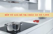 9 mẫu bếp từ giá rẻ nhập khẩu Châu Âu giá từ 7,99 triệu đồng